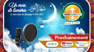Radio Sunnite TOUS LES SOIRS à 17h30