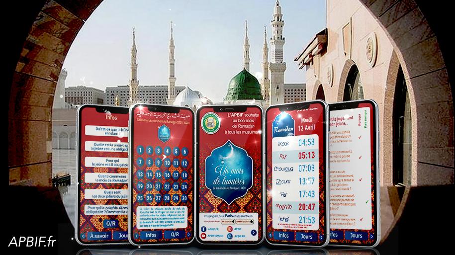 Calendriers du mois de Ramadan 1442H / 2021 à TELECHARGER
