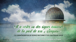 Slogan Voyage nocturne et Ascension 1442H