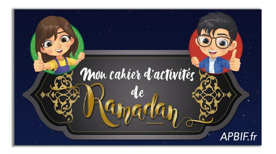 Cahiers d'activités Ramadan