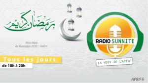 Radio Sunnite TOUS LES SOIRS à 18h