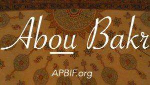 Parole de Abou Bakr