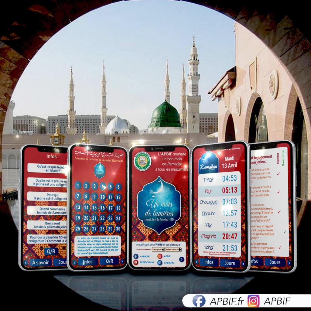 Calendriers du mois de Ramadan 1442H 2021 à télécharger