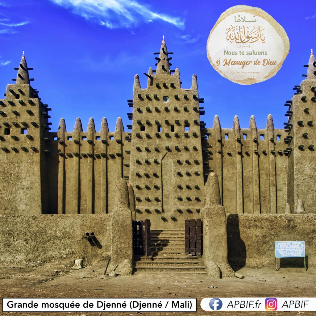 Grande Mosquée De Djenné (Djenné Mali) apbif