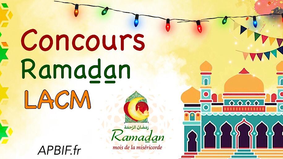 Concours spécial Ramadan LACM – 2019