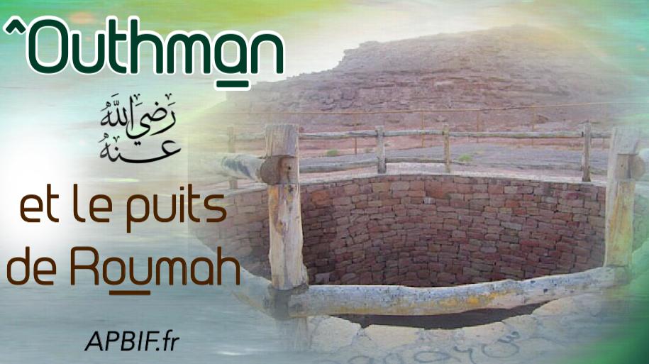outhman et le puits de roumah association des projets de bienfaisance islamique en france apbif. Black Bedroom Furniture Sets. Home Design Ideas