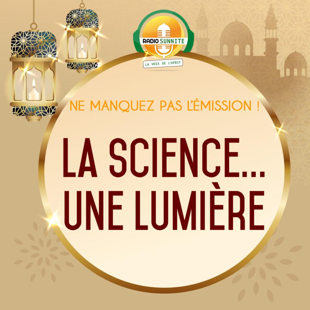 La science, une lumière