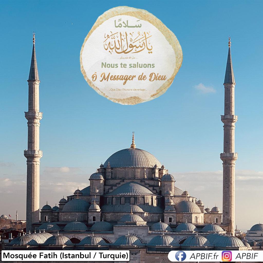 Mosquée Fatih (Istanbul Turquie) FB