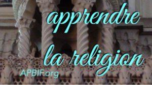 La religion n'est pas selon l'avis de chacun