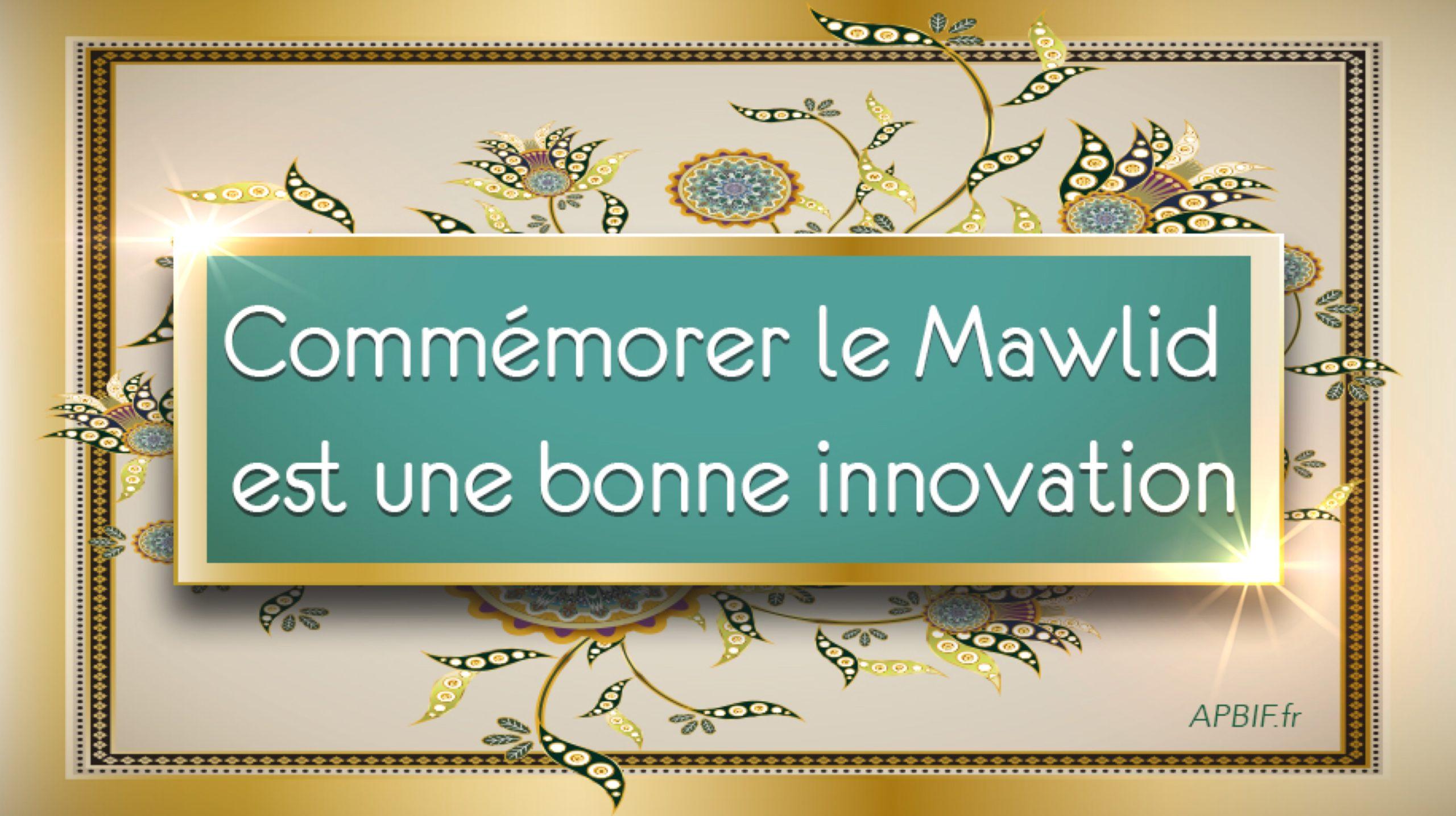 Interview: Le Mawlid est une bonne innovation