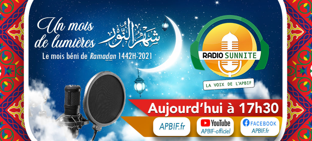 Radio Sunnite Apbif Samedi 10 Avril