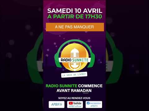 Lancement Radio Sunnite 2021
