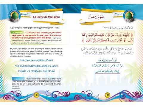 Tome 3 - Adorations - Leçon 11 - Le jeûne de Ramadan