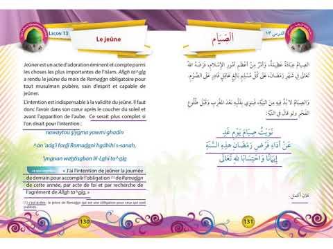 Tome 2 - Adorations - Leçon 13 - Le jeûne